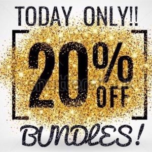 TODAY ONLY! 20% off bundles!🎉